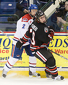 Chris Ickert (Lowell - 2), Cody Ferriero (Northeastern - 79) - The visiting Northeastern University Huskies defeated the University of Massachusetts-Lowell River Hawks 3-2 with 14 seconds remaining in overtime on Friday, February 11, 2011, at Tsongas Arena in Lowelll, Massachusetts.