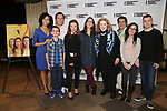Nedra McClyde, Luca Padovan, Carman Lacivita, Lili Taylor, Anne Kauffman, Celia Weston, Triney Sandoval, Janeane Garofalo and Jack DiFalco attends the cast photo call for the Roundabout Theatre Company's production of 'Marvin's Room'  at American Airlines Theatre on May 11, 2017 in New York City.