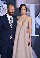 Dakota Johnson &amp; Jamie Dornan at the premiere of &quot;Fifty Shades Darker&quot; at the Theatre at the Ace Hotel, Los Angeles, USA 18th January  2017<br /> Picture: Paul Smith/Featureflash/SilverHub 0208 004 5359 sales@silverhubmedia.com