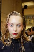 OCT 02 CHALAYAN backstage at Paris Fashion Week
