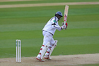 Michael Carberry hits four runs for Hampshire during Essex CCC vs Hampshire CCC, Specsavers County Championship Division 1 Cricket at The Cloudfm County Ground on 20th May 2017
