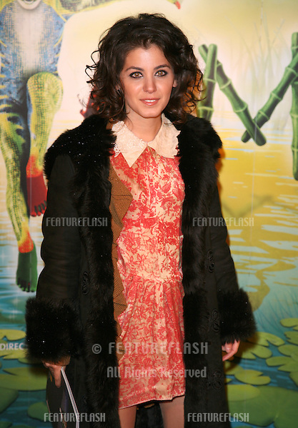 Katie Melua arriving for the gala premiere of Cirque Du Soleil's 'Totem' , at the Royal Albert Hall, London. 05/01/2011. Picture by: Alexandra Glen / Featureflash