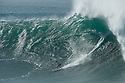Greg Long (ZAF) during the Quiksilver Eddie Aikau at Waimea Bay on the Northshore of Oahu in Hawaii