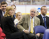 Frank Gilroy, Joan Wilson, Jack Parker (BU - Head Coach), Greg Cronin - The Hobey Baker Award Ceremony was held Friday night, April 10, 2009, at the Verizon Center during the 2009 Frozen Four in Washington, DC.  The &quot;Hobey Hat Trick&quot; was made up of Boston University's Matt Gilroy and Colin Wilson and Northeastern University's Brad Thiessen.  Matt Gilroy is the 2009 Hobey Baker Award winner.