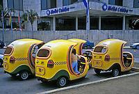 Pedicabs, Melia Colombe Hotel, Havana Cuba, Republic of Cuba,