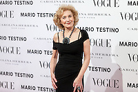 Marisa Paredes at Vogue December Issue Mario Testino Party
