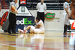"Ole Miss' Nikki Byrd (22) vs. Arkansas at the C.M. ""Tad"" Smith Coliseum in Oxford, Miss. on Thursday, January 12, 2012. Ole Miss won 60-54."