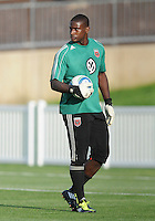 DC United goalkeeper Bill Hamid.    The New England Revolution defeated DC United 3-2 in US Open Cup match , at the Maryland SoccerPlex, Tuesday  April 26, 2011.