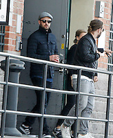 Justin Timberlake arriving at the Fotografiska Museum