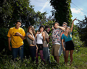 Indy Arts Award Winners: Sacrificial Poets, Chapel Hill, NC, July 15, 2011.
