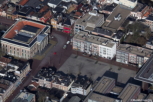 Leeuwarden - Wilhelminaplein, Zaailand en Gerechtshof