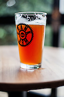 Copyright Justin Cook   July 24, 2013<br /> <br /> The Rye IPA at Crank Arm Brewery in Raleigh, N.C.