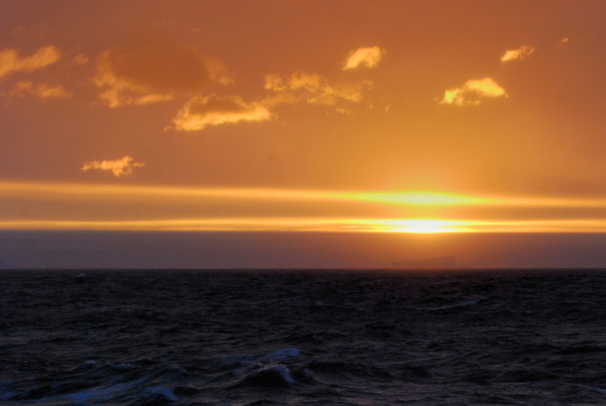 Flat Line - At sea off the Adelie Land, Antarctica