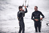 Cabrinha kitesurfing team riders,  Keahi De Aboitiz, Jamie Barrow &amp; Geoffrey &quot;Chuck&quot; Waterson, stop by Wellington on their 2011 Cabrinha TOUR of DUTY road trip from Christchurch to Auckland in New Zealand.