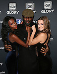Tia Shipman,Idris Elba and Alyssa Arce Attend GLORY Sports International (GSI) Presents GLORY 12 Kick Boxing World Championship NEW YORK, LIVE on SPIKE TV, from the Theater at Madison Square Garden, NY