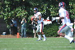 Ole Miss quarterback Randall Mackey (1) passes in Nashville, Tenn. on Saturday, September 17, 2011. Vanderbilt won 30-7..