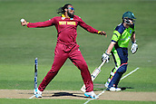 16.02.2015. Nelson, New Zealand.  West Indies player Chris Gayle during the 2015 ICC Cricket World Cup match between West Indies and Ireland. Saxton Oval, Nelson, New Zealand.