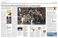 Helsingin Sanomat (leading Finnish daily) on the European military transport airbase of P&aacute;pa, Hungary, August 2016<br /> Photos: Martin Fejer