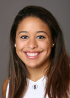 STANFORD, CA - OCTOBER 9: Grace Mashore of the Stanford Cardinal women's basketball team poses for a headshot on October 9, 2008 in Stanford, California.
