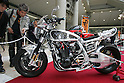 Mar 26, 2010 - Tokyo, Japan - A Kawasaki Z-1 customized by House Rocker is on display during the 37th Tokyo Motorcycle Show at Tokyo Big Sight on March 26, 2010. The event is the Japan's largest motorcycle exhibition and it will be held until March 28 this year. (Photo Laurent Benchana/Nippon News)