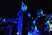SEPTEMBER 7, 2012: Jesus and Mary Chain at City Plaza. Night two, Hopscotch 2012. (photo by Kim Walker, kimwalkerphoto.com)