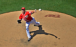 16 June 2012: Washington Nationals pitcher Ross Detwiler on the mound against the New York Yankees at Nationals Park in Washington, DC. The Yankees defeated the Nationals in 14 innings by a score of 5-3, taking the second game of their 3-game series. Mandatory Credit: Ed Wolfstein Photo