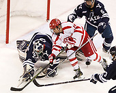 Patrick Spano (Yale - 30) Bobo Carpenter (BU - 14), Billy Sweezey (Yale - 6) The Boston University Terriers defeated the visiting Yale University Bulldogs 5-2 on Tuesday, December 13, 2016, at the Agganis Arena in Boston, Massachusetts.
