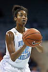 21 December 2013: North Carolina's N'Dea Bryant. The University of North Carolina Tar Heels played the High Point University Panthers in an NCAA Division I women's basketball game at Carmichael Arena in Chapel Hill, North Carolina. UNC won the game 103-71.