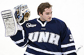 Jeff Wyer (UNH - 35) - The Boston College Eagles defeated the visiting University of New Hampshire Wildcats 5-2 on Friday, January 11, 2013, at Kelley Rink in Conte Forum in Chestnut Hill, Massachusetts.