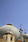 Israel, Jerusalem, the domes of the Church of the Holy Sepulchre