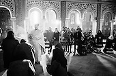Botiza, Maramures<br /> Romania<br /> January 1,1992<br /> <br /> New Years mass.