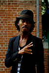 k'naan Attends Nas & Damian Marley at Central Park SummerStage, NY 8/11/11