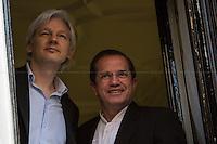 16.06.2013 - Julian Assange Meets the Ricardo Patiño, Minister of Foreign Affairs of Ecuador