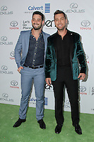 BURBANK, CA - OCTOBER 22: Lance Bass, Michael Turchin attends the Environmental Media Association 26th Annual EMA Awards Presented By Toyota, Lexus And Calvert at Warner Bros. Studios on October 22, 2016 in Burbank, California (Credit: Parisa Afsahi/MediaPunch).