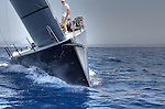 TP 52 RAN IV, first test sail In Palma de  Mallorca, Spain. The  2011 TP52 designed by Judel/Vrolijk and built at Green Marine in Lymington, UK.