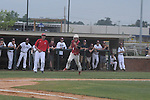 Lafayette High vs. New Albany in high school baseball playoff action in New Albany, Miss. on Monday, May 7, 2012. Lafayette High won 6-1 to advance.