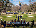 2014 ROTC Pass in Review 1.JPG by Matt Cashore/University of Notre Dame