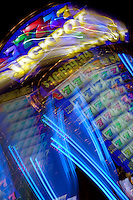 """Jackpot"" - This slot machine was photographed in a casino in Reno, Nevada. The effect was obtained in camera by long exposure mixed with intentional camera movement."