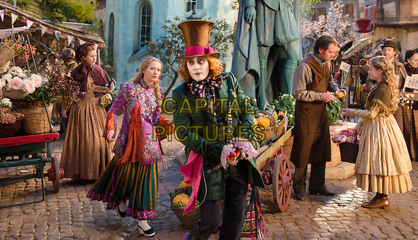 Alice Through the Looking Glass (2016) <br /> Mia Wasikowska, Johnny Depp<br /> *Filmstill - Editorial Use Only*<br /> CAP/KFS<br /> Image supplied by Capital Pictures
