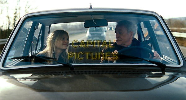 Clemence Poesy, Michael Caine<br /> in Last Love (2013) <br /> (Mr. Morgan's Last Love)<br /> *Filmstill - Editorial Use Only*<br /> CAP/FB<br /> Supplied by Capital Pictures
