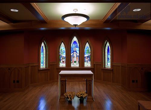 Geddes Hall chapel..Photo by Matt Cashore/University of Notre Dame