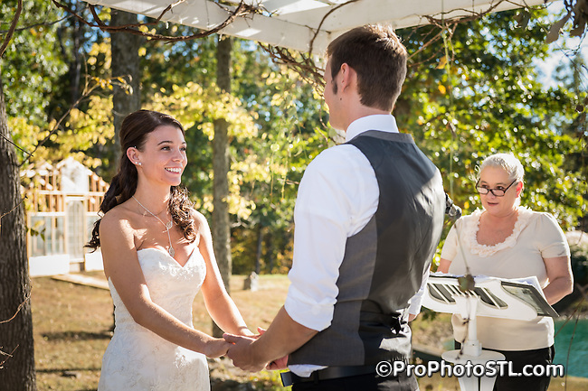D&L wedding - ceremony photos