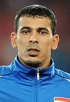 Younis Mahmoud of Iraq. Iraq and New Zealand tied 0-0 during the FIFA Confederations Cup at Ellis Park Stadium in Johannesburg, South Africa on June 20, 2009..
