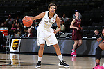 25 February 2016: Wake Forest's Ariel Stephenson. The Wake Forest University Demon Deacons hosted the Virginia Tech Hokies at Lawrence Joel Veterans Memorial Coliseum in Winston-Salem, North Carolina in a 2015-16 NCAA Division I Women's Basketball game. Virginia Tech won the game 54-48.