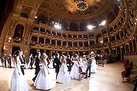 Opera Ball 2008 dress rehearsal