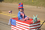 Cooper Eddleman rides in the 4th of July parade in Oxford, Miss. on Monday, July 4, 2011.