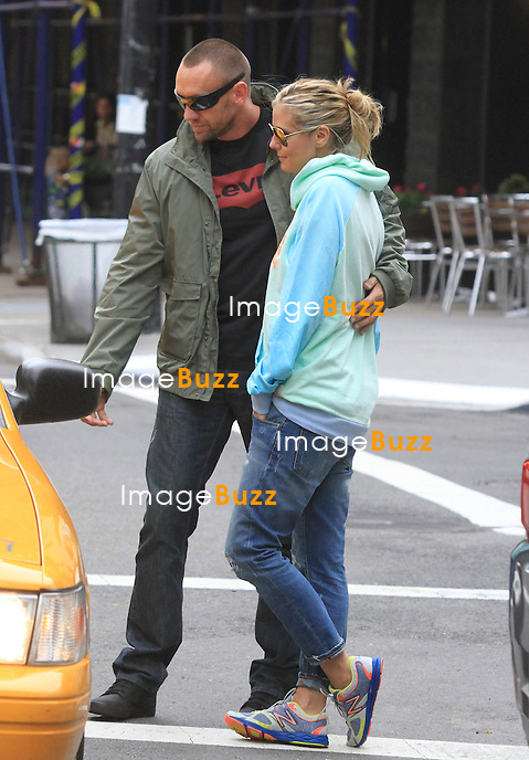 Heidi Klum and her boyfriend Martin Kristen spotted out in New York City, on June 14, 2013.