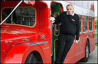 Conducter saves his double decker  bus...twice.