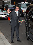 """Celebrities visit """"Late Show with David Letterman"""" New York, Ny February 22, 2012"""