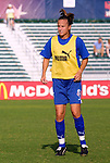 11 June 2003: Carla Overbeck. The Carolina Courage defeated the Washington Freedom 3-0 at SAS Stadium in Cary, NC in a regular season WUSA game.